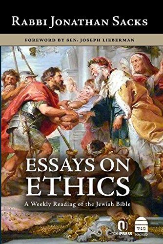Essays on Ethics par Jonathan Sacks