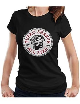 Tupac Shakur Converse All Star Icon Women's T-Shirt