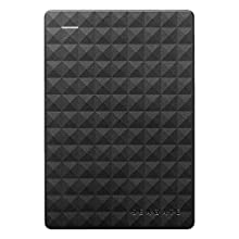 Seagate Expansion Portable, Unità Disco Esterna Portatile da 2 TB - USB 3.0 per PC Desktop, PC Portatili e Mac (STEA2000400)