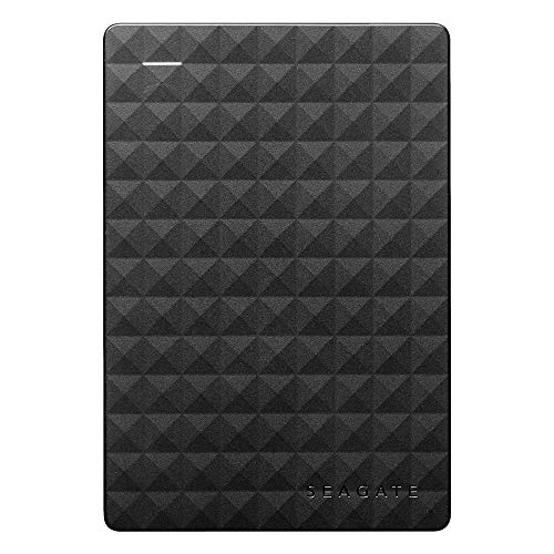 Seagate STEA2000400 Expansion Portable External Portable Hard Drive + STZZ794 Product Card with Registration Code, 2TB, Black, 2019 Deluxe Edition