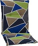 beo Gartenstuhlauflagen Saumauflage für Niedriglehner graphisches Design