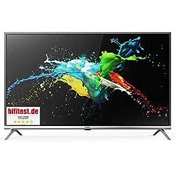 CHiQ L32G5000 32 Pouces (80cm) HD Smart LED téléviseur,WiFi, Netflix, Youtube,Triple Tuner (DVB-T2/T/C/S2/S,CI+,HDMI,USB), Classe énergétique A+, Couleur Sliver, Design Ultra Fin.
