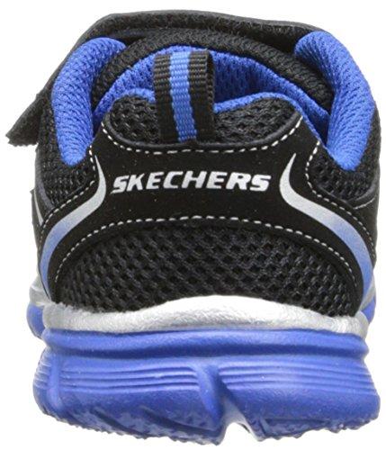Skechers SpeedeesBurn Outs, Baskets mode garçon Noir (Bkry)