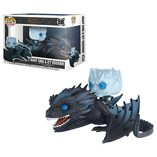 Funko Pop!- 28671 Rides: Game of Thrones: Viserion & Night King, Multicolor