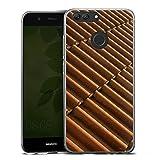 Huawei Nova 2 Slim Case Silikon Hülle Schutzhülle Dachziegel Ziegel Look Muster