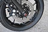 KIT PROTEZIONE PERNI RUOTA ANTERIORE MELOTTI RACING per YAMAHA MT-07 / MT-09 / TRACER 900 ABS