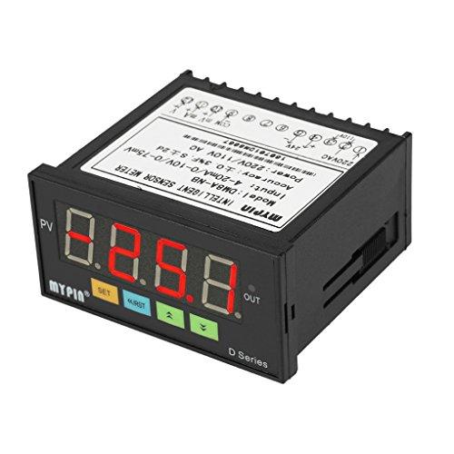 Masterein MyPin Digital Sensor Meter Multifunktions intelligente LED-Anzeige 0-75mV/4-20mA/0-10V Eingang Drucktransmitter -
