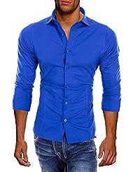 Redbridge by CIPO & BAXX Slim Fit Hemd Polo Shirt Kentkragen Polo R-2111 Verschiedene Farben