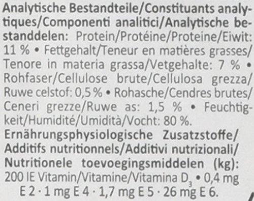 Animonda vom Feinsten Junior 82621 Geflügel+Putenherzen 22 x 150 g Schale – Hundefutter - 3