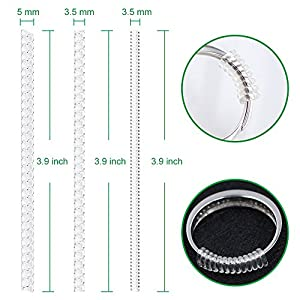 Anpro 15 Pack Ring Size Adjuster Ring Guard Ring Snuggies for Loose Rings (2 mm / 3 mm) : everything £5 (or less!)