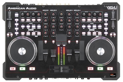 Audio American Mixer (American Audio - VMS4.1 - 4 Kanal All-In-One-MIDI Controller inkl. Virtual DJ-LE)