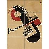 VINTAGE ADVERT BAUHAUS WEIMAR ICON GERMANY GIANT ART PRINT
