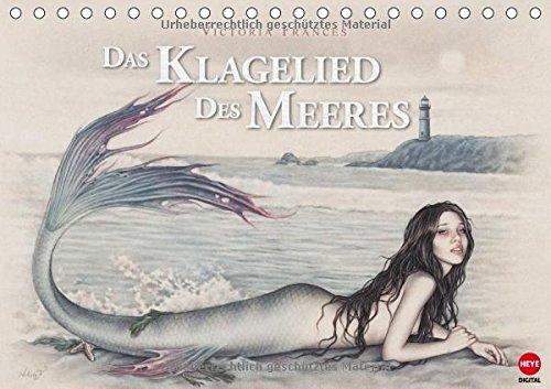 Das Klagelied des Meeres (Tischkalender 2015 DIN A5 quer): Victoria Francés Märchenadaption als Kalender - ein Muss für alle Fans! (Tischkalender, 14 Seiten)