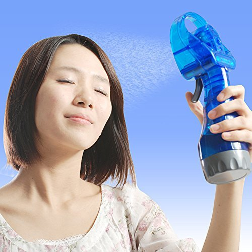 Portable Water Mist Spray Fan Air Cooler Conditioner By ShoppingTadka ( Assorted Color )