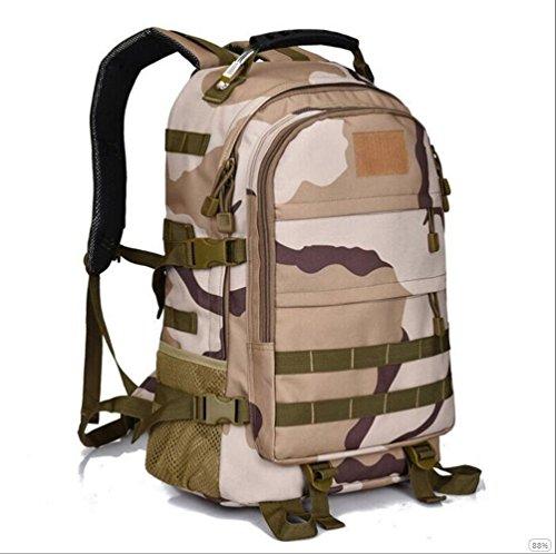 GOUQIN Zaino Outdoor Classico Moda Elegante Arrampicata Outdoor Turismo Borse Zaini, Camouflage 5 3 camouflage
