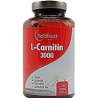 Preisvergleich für L-Carnitin hochdosiert 180 Kapseln á 750 mg L-Carnitintartrat · 100%Vegan · ohne Zusatzstoffe Made in Germany