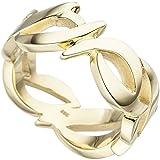 Ring Damen 14 Karat (585) Gelbgold Breite ca. 9,1 mm 58 (18.5)