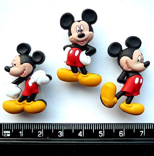 Disney Mickey Mouse-Neuheit Craft Tasten & Verzierungen von Kleid IT UP