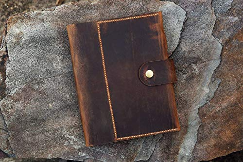 Personalized A5 Leather notebook...