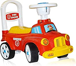 Akshat Beautiful and Very Comfortable Fire Engine Rider Baby Rider Toy Ride - ONS Ride ONS for Kids Kids Cars Ride ONS car Ride ONS for Kids