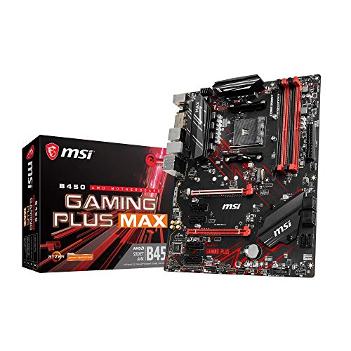 MSI B450 Gaming Plus MAX Socket AM4/B450/DDR4/S-ATA