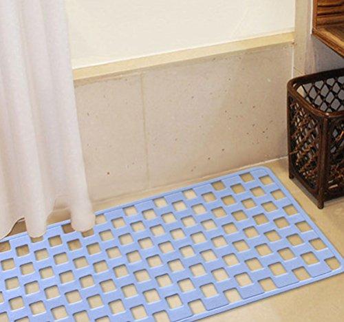 LYJ Tapis de bain Salle de bain Baignoire Tapis antidérapant Tapis de bain Tapis de salle de bain Séchage rapide ( Couleur : Le ciel bleu )
