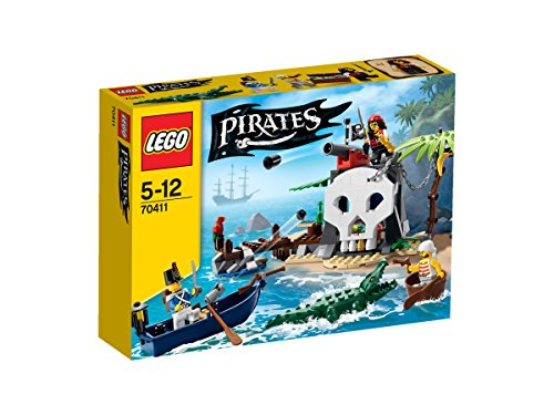 LEGO Pirates 70411 - Piraten-Schatzinsel