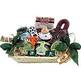 Fussball Geschenk-Korb Präsentkorb (6086) mit deftigen Delikatessen und Süßigkeiten, antistress Figur Knautschi SQUEEZIES