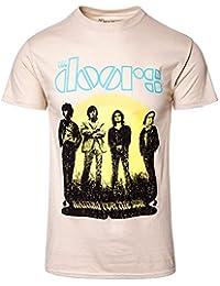 The Doors 1968 Tour T-shirt Sand Offiziell Zugelassen Musik