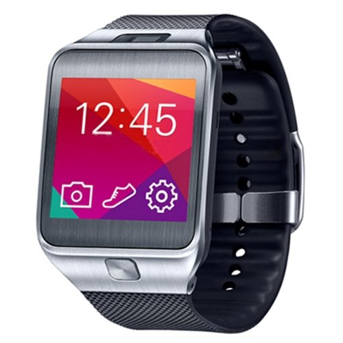 No.1G2, 1.54pulgadas Waterproof TFT Screen SmartWatch con Plastic Brand para Smartphone, Bluetooth 4.0/2.0MP camera/Heart Rate Sensor/pedomisuratore/remote-control (Silver)