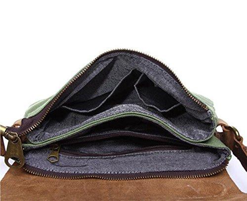DJB/ Baodan der Leinwand Umhängetasche Messenger bag casual Flut Taschen grass green