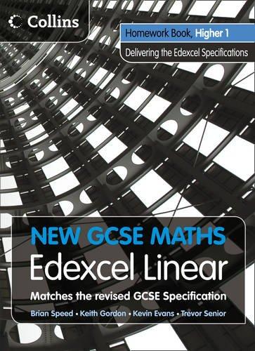 New GCSE Maths – Homework Book Higher 1: Edexcel Linear (A)