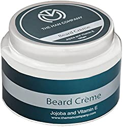 The Man Company Beard Crme, Jojoba and Vitamin E Essential Oils, 100g