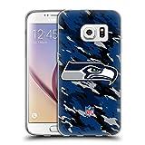 Offizielle NFL Camou Seattle Seahawks Logo Soft Gel Hülle für Samsung Galaxy S7