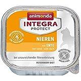 Animonda Integra Protect Nieren Katzenfutter mit Ente, 16er Pack (16 x 100 g)