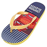 Yellow, Flip-Flops for Boys Cars Lightning McQueen Disney