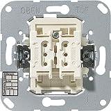 Jung 4072.02LED KNX Taster Busankoppler 2-fach - Mittenstellung