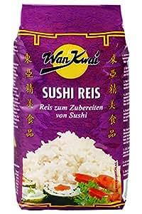 Wan Kwai  Sushi Reis, Klebeis, 2er Pack (2 x 500 g Packung)