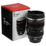 #2: Flintstop Camera Lens Coffee Mug