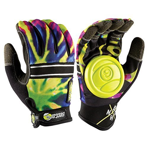 sector-9-bhnc-adult-slide-skateboard-gloves-limeburst-large-x-large-by-sector-9