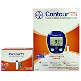 #5: Bayer Contour TS Blood Glucometer Combo, 50 Strips