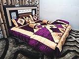 Peponi Purple Wedding Bedding Set 8 Pcs ...