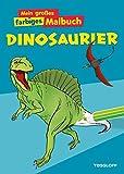 Mein großes farbiges Malbuch Dinosaurier. Ab 7 Jahren (Malbücher und -blöcke)