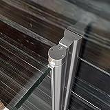 Duschkabine 90x90 Eckeinstieg Falttür Duschabtrennung Duschtür Eckdusche Duschwand aus Sicherheitsglas Vergleich