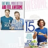 Lean Machines and Lean in 15 The Shape Plan 2 Books Bundle Collection - Eat Well, Move Better and Feel Awesome, 15 minute meals with workouts to build a strong, lean body (Paperback) (Pre-order)