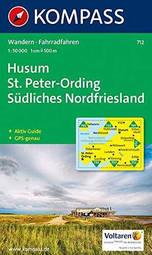 Husum, Sankt Peter-Ording: 1:50.000, Wandern/Rad, GPS-genau (Rad Karte)