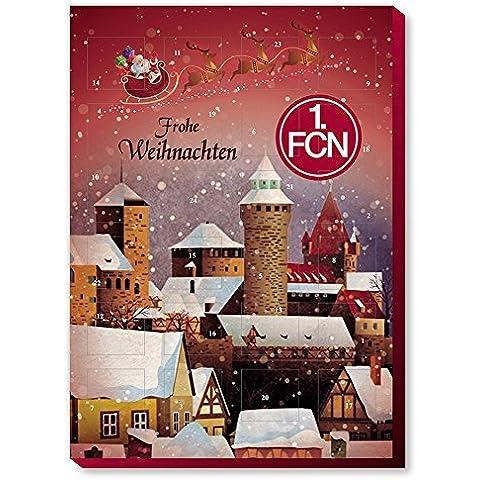 1. FC Nürnberg Navidad calendario, calendario de Adviento