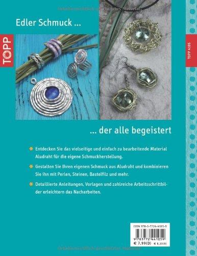 Eleganter Schmuck aus Aludraht: Ringe, Ketten, Armreifen, Anhänger und mehr (kreativ.kompakt.) - 2