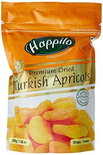 HappiloPremium Turkish Apricots, 200g