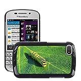 Just carcasa caliente estilo teléfono celular PC Funda rígida//m00138235Caterpillar Lepidoptera Hoja Verde//Blackberry Q10